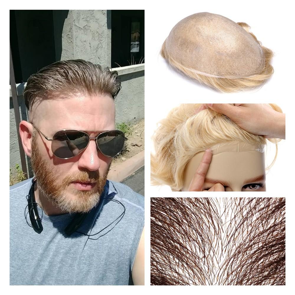 sistema de pelo polivinílico para personas mayores