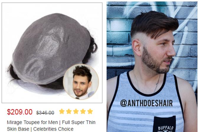 lavivid mirage toupee