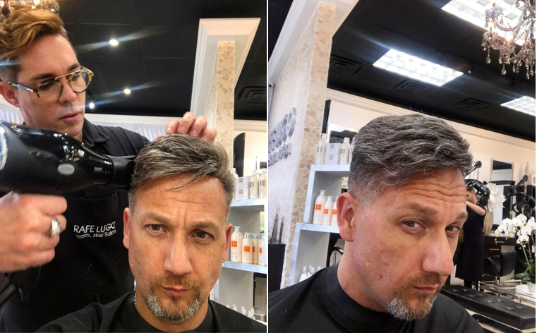 lavivid gray hair toupee