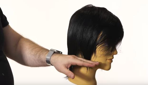 cómo cortar peluquín