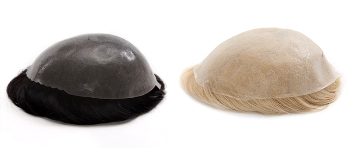 how to clean thin skin toupee