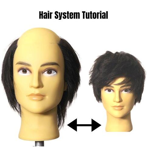 hair system make over