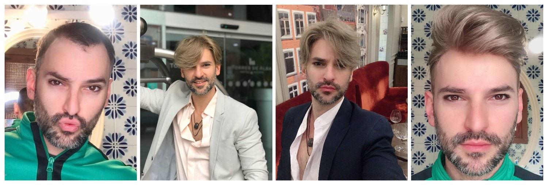 peinado para hombres