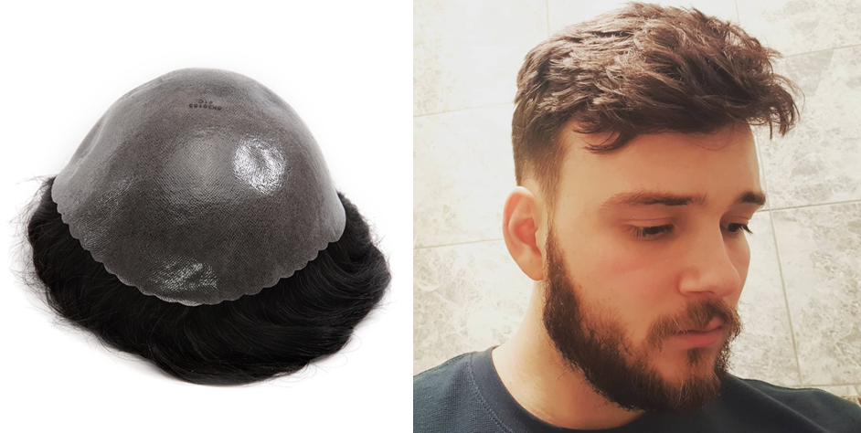 normal skin toupee