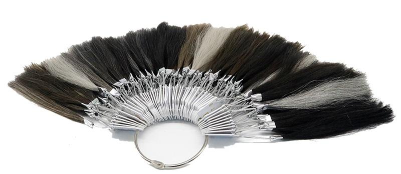 anillo de color toupee