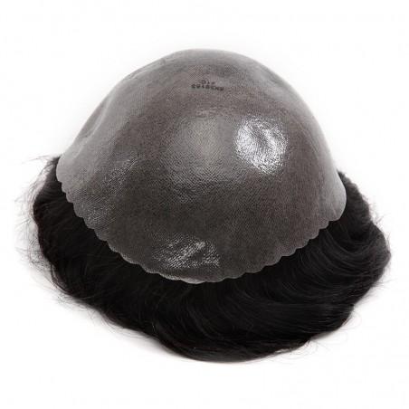 Achilles Men's Hair Unit | Full Skin Base | Men's Hairstyle for Thin Hair