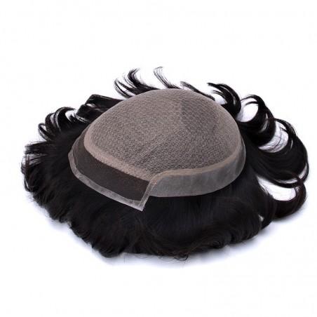 Prometheus Bald Men Hair Pieces Online | Silk Base with Front Lace | luxurious Style