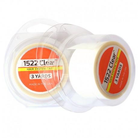 1522 Cinta transparente para piezas de cabello para hombres | Uso diario | 3 yardas