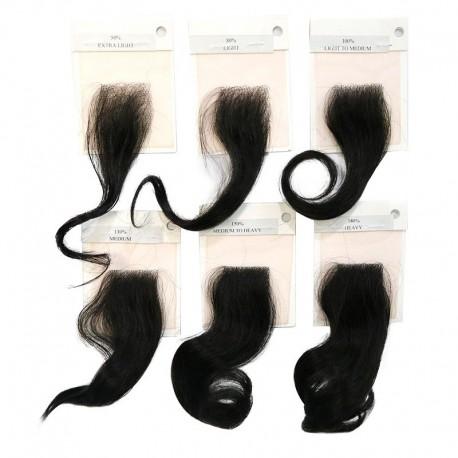 Tabla de densidad para el sistema de reemplazo de cabello para hombres