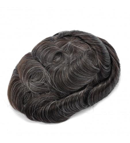 Eros Mens Hair System|Full Ultra Thin Skin Base|Businessmens Choice