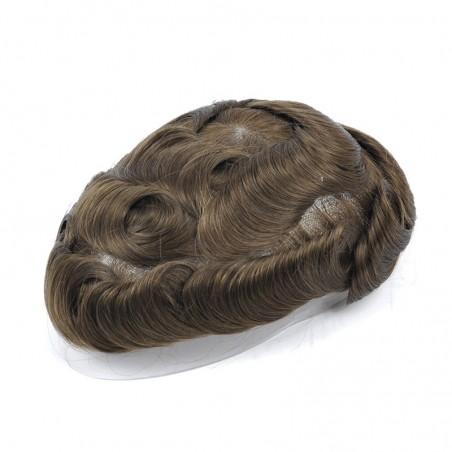 Apollo Men's Toupee Online   Mono with Scallop Front   Men's Hairstyle in Trend