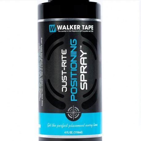 Walker Just Rite Spray de posicionamiento 4 oz | Preparación del cuero cabelludo para la instalación del sistema capilar