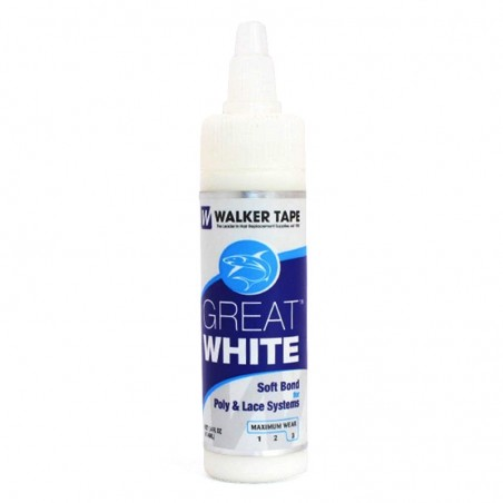 Toupee Glue Walker Great White   Water Based   Skin Safe and Bacteria Resistant