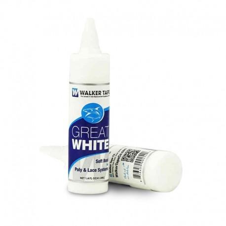 Andador de cola para peluquín Great White | A base de agua | Seguro para la piel y resistente a las bacterias