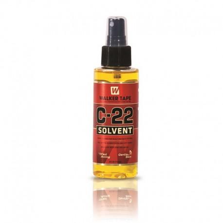 Removedor de adhesivo solvente para peluquines C22, 4 oz. Spray removedor de pegamento para peluca a base de cítricos