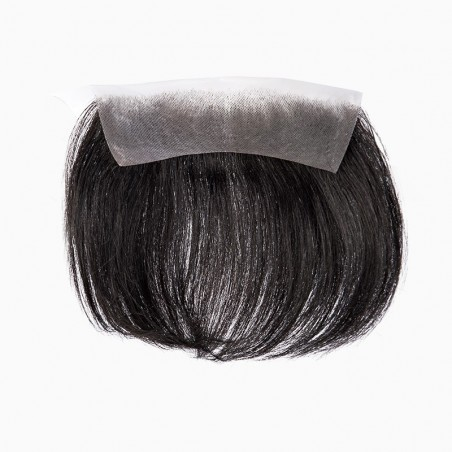 Zeus Men's Frontal Hairpiece Specially Designed to Cover Male Receding Hairline | No Need to Shave Bio Hair