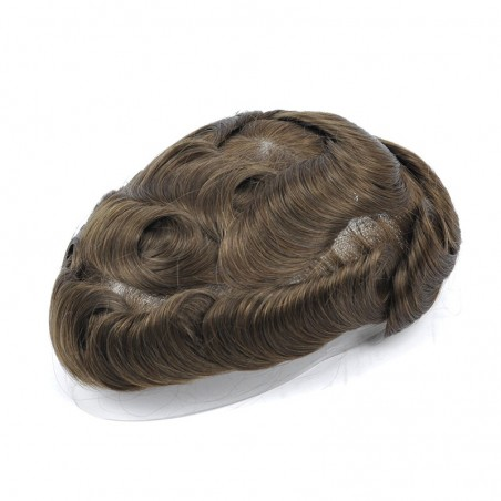 Oceanus Men's Hair System Online | Lace Front with Skin in the Back | Durable Style
