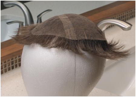 air dry the hair system