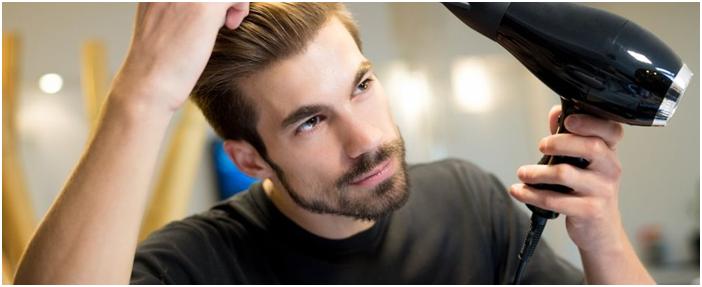 blow dry hair system