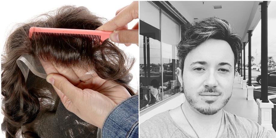 lace toupee