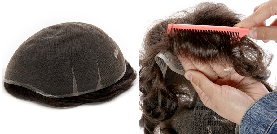 lavivid swiss lace toupee