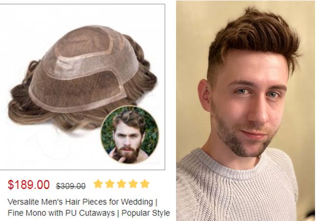 versalite toupee