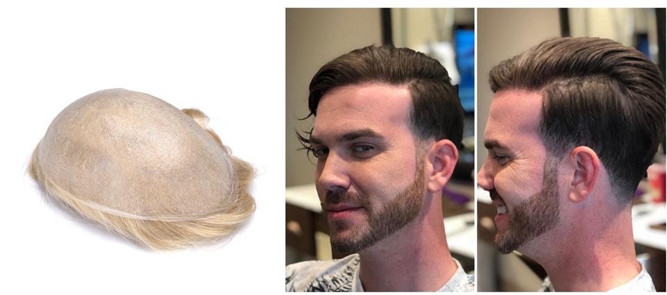 ultra thin skin toupee